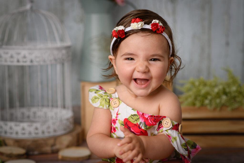 Foto de estudio de bebé en Sevilla