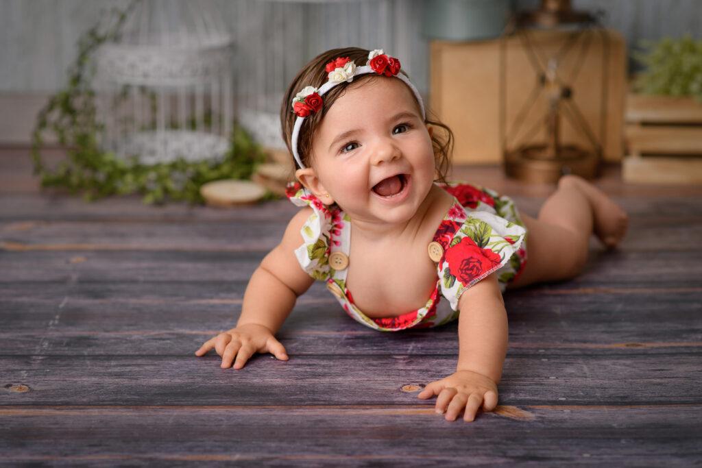 Sesión fotográfica a bebé en Sevilla